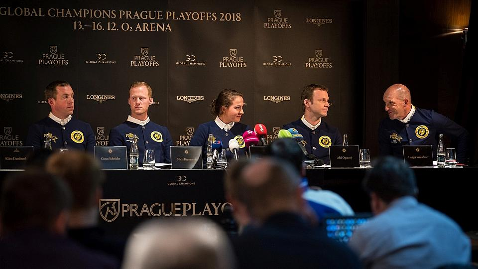 Video záznam tiskové konference Prague PlayOffs